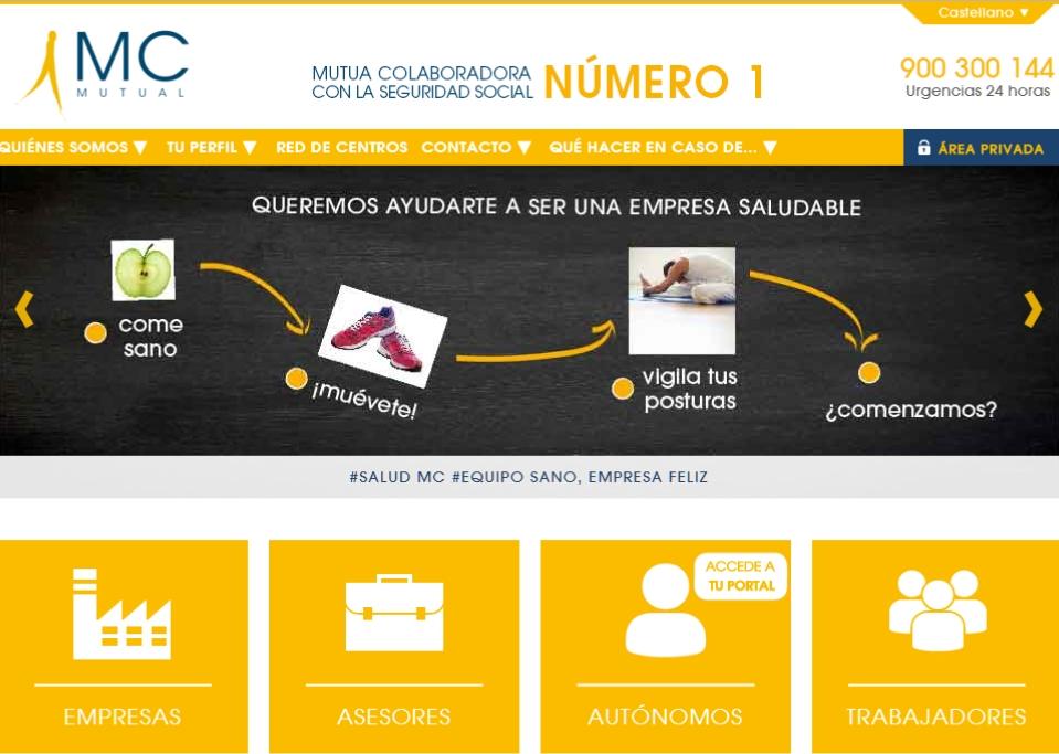 Acceso web MC MUTUAL