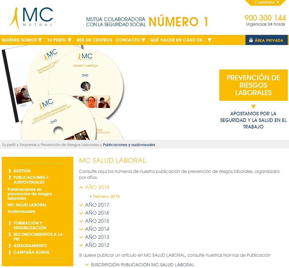 Revista MC Salud Laboral